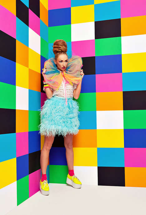 Color Blocking Editorials