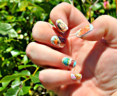 DIY, Beauty, Comics, Nail Art