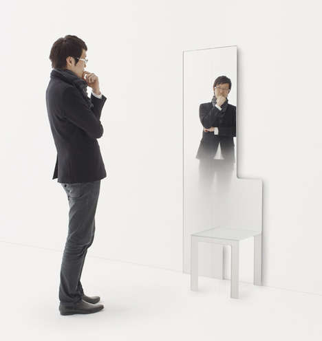 mirror chair