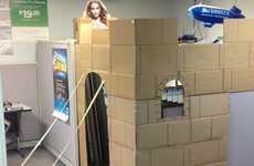 Cardboard Cubicle Castles