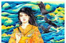 50 Modern Oriental Art Finds