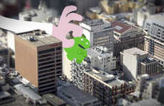 Comical City Destruction Cartoons