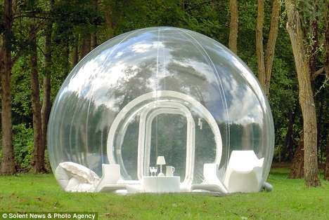 Transparent Dome Tents