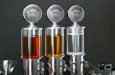 Gas Pump Liquor Dispensers