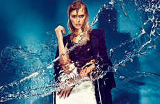 Splash-Worthy Monochromatic Fashion