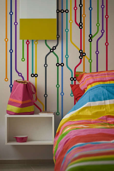 Tube Map Wall Murals from PIXERS