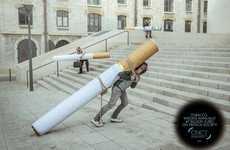 Backbreaking Cigarette Ads