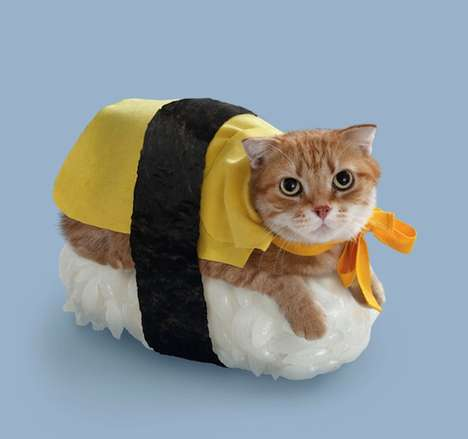 Japanese Fad Sushi Cats