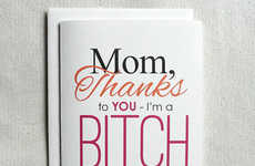 Snarky Mother's Day Cards