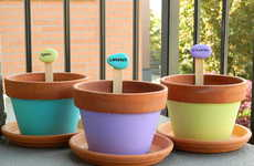 Vibrantly Customized Plant Markers