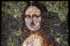 Stunning Sea Glass Portraits