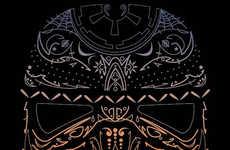 Artistically Tribal Sci-Fi Tees