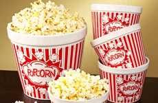 Vintage Movie Popcorn Bowls