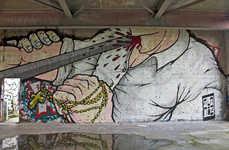Violent Urban Street Art
