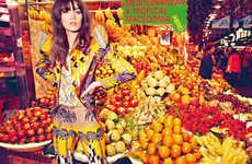 Vibrant Supermarket Editorials