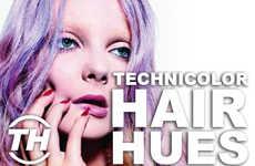 Technicolor Hair Hues