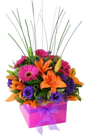 flower basket gift