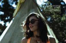 Versatile 70s Swimwear