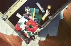 Summery DIY Floral Purses