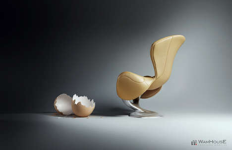 wamhouse design wykluty armchair