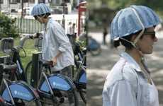 Newspaper-Based Bike Helmets