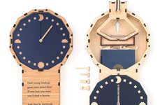 Book-Hiding Timepieces
