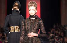 Fierce Feline-Printed Couture