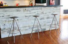 Peel-And-Stick Wood Panels