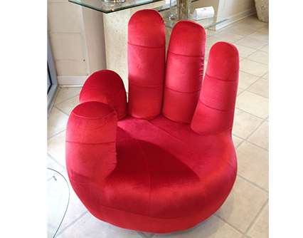 OK Swivel Hand Chair