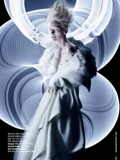 Tilda Swinton W Magazine Korea