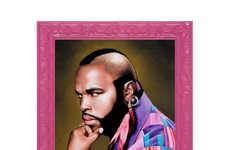 Feminized Male Icon Portraits