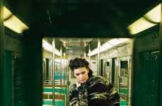 Metallic Subway-Inspired Editorials