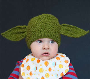 Star Wars Baby Hats