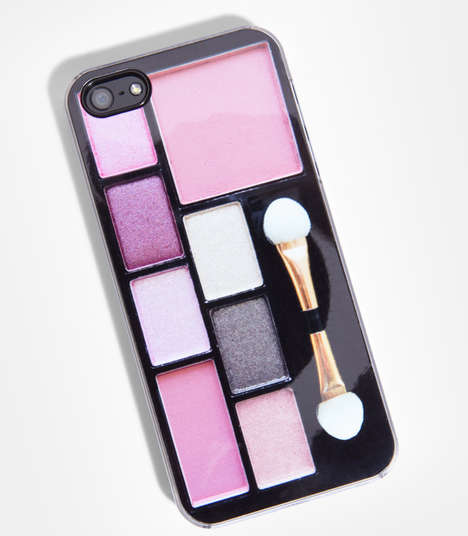 Makeup Compact iPhone 5 Case