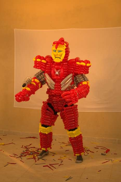Iron Man Balloon Costume