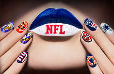 NFL-Inspired Nail Designs