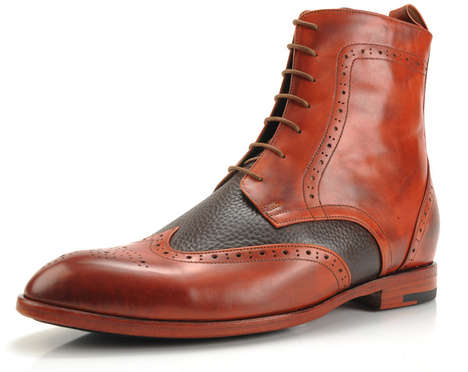 elevator shoes, men, height increasing, fashionable boots