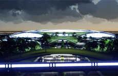 Futuristic Travel Airports