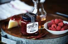 Appetizing Alcohol-Flavored Jams