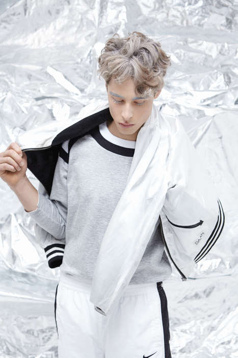 winter sportswear editorial