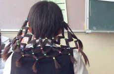 Elaborate Trap-Like Hairdos