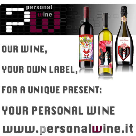 personalized wine gift italian