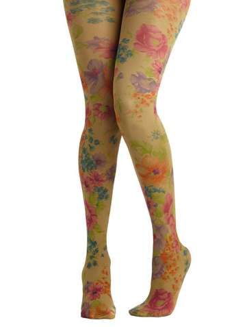 Flower Tights