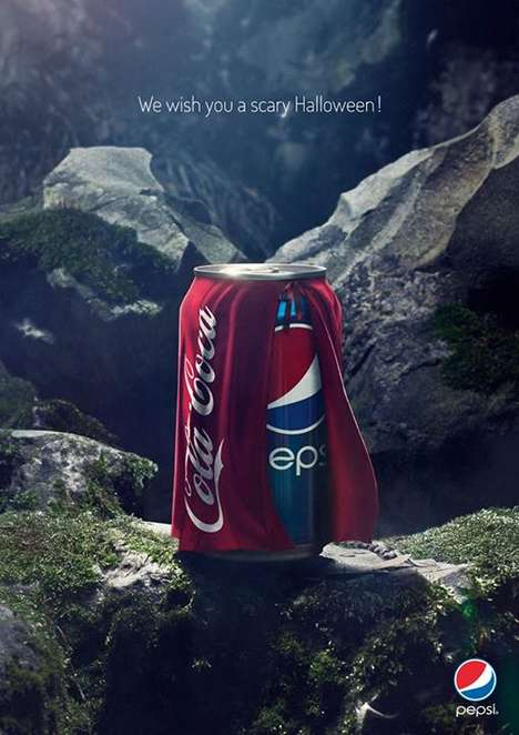 Pepsi Dressed As Coke