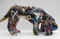 42 Terrific Toy Sculptures