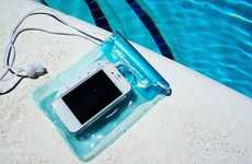 Waterproof Smartphone Speaker Pouches