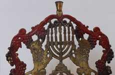 15 Unique Hanukkah Candelabras