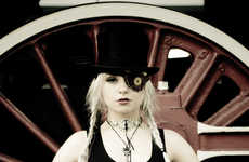 Gothic Train-Hopping Photography