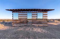 Virtually Transparent Desert Homes
