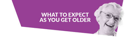 what to expect as you get older infographic